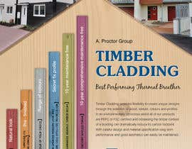 nº 37 pour Design an Advertisement for Timber Cladding par jj0357
