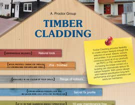 nº 38 pour Design an Advertisement for Timber Cladding par jj0357