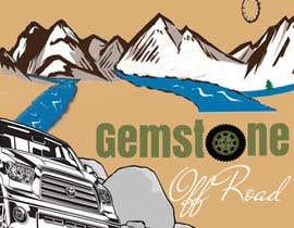 Nro 5 kilpailuun Gemstone Offroad Logo Contest! käyttäjältä georgedobris