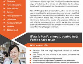 #2 cho Design a Brochure for my employment agency bởi ezesol