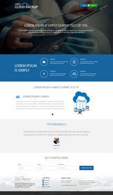 #5 cho Design a Website Mockup for a single page website bởi ankisethiya
