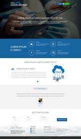 Nro 5 kilpailuun Design a Website Mockup for a single page website käyttäjältä ankisethiya