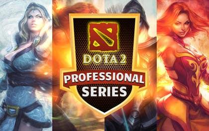 #30 for Design a Banner and logo for ES1 DOTA 2 Pro Series af nasser3mad