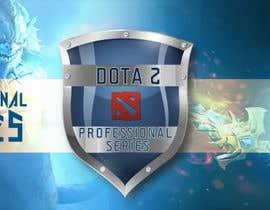 #11 for Design a Banner and logo for ES1 DOTA 2 Pro Series af vivekdaneapen