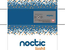 #4 para Create Print and Packaging Designs for Noctic Light (flashlight) por ruicondesso