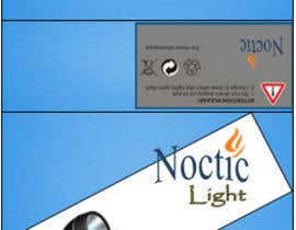 #7 para Create Print and Packaging Designs for Noctic Light (flashlight) por mukundrathi2905