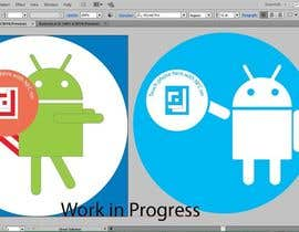 #2 cho Design a sticker with the android robot and my logo bởi mWaqasShah