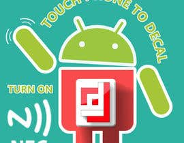 #6 cho Design a sticker with the android robot and my logo bởi camorim