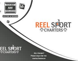#13 para Design a Logo for Reel Sport Charters por MarinaWeb