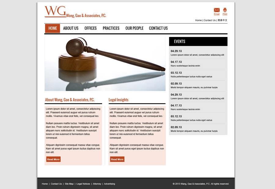Bài tham dự cuộc thi #                                        1                                      cho                                         Create a Wordpress Template for a lawfirm