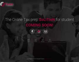 #13 para Design a Website 1-page Mockup for StudentTaxes.com por tastan