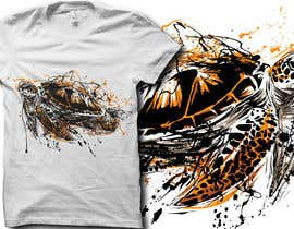 #15 for Design a T-Shirt with an Semi-Abstract Appearance of Animals/Creatures af secondsyndicate