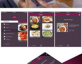 #1 untuk Design an App Mockup for iPad Restaurant Menu oleh photogra