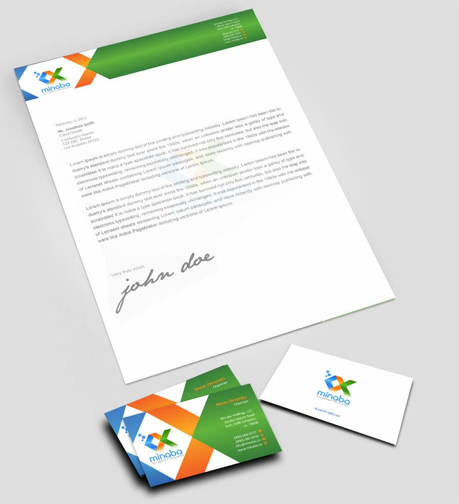 Contest Entry #13 for business card, letterhead, invoice
