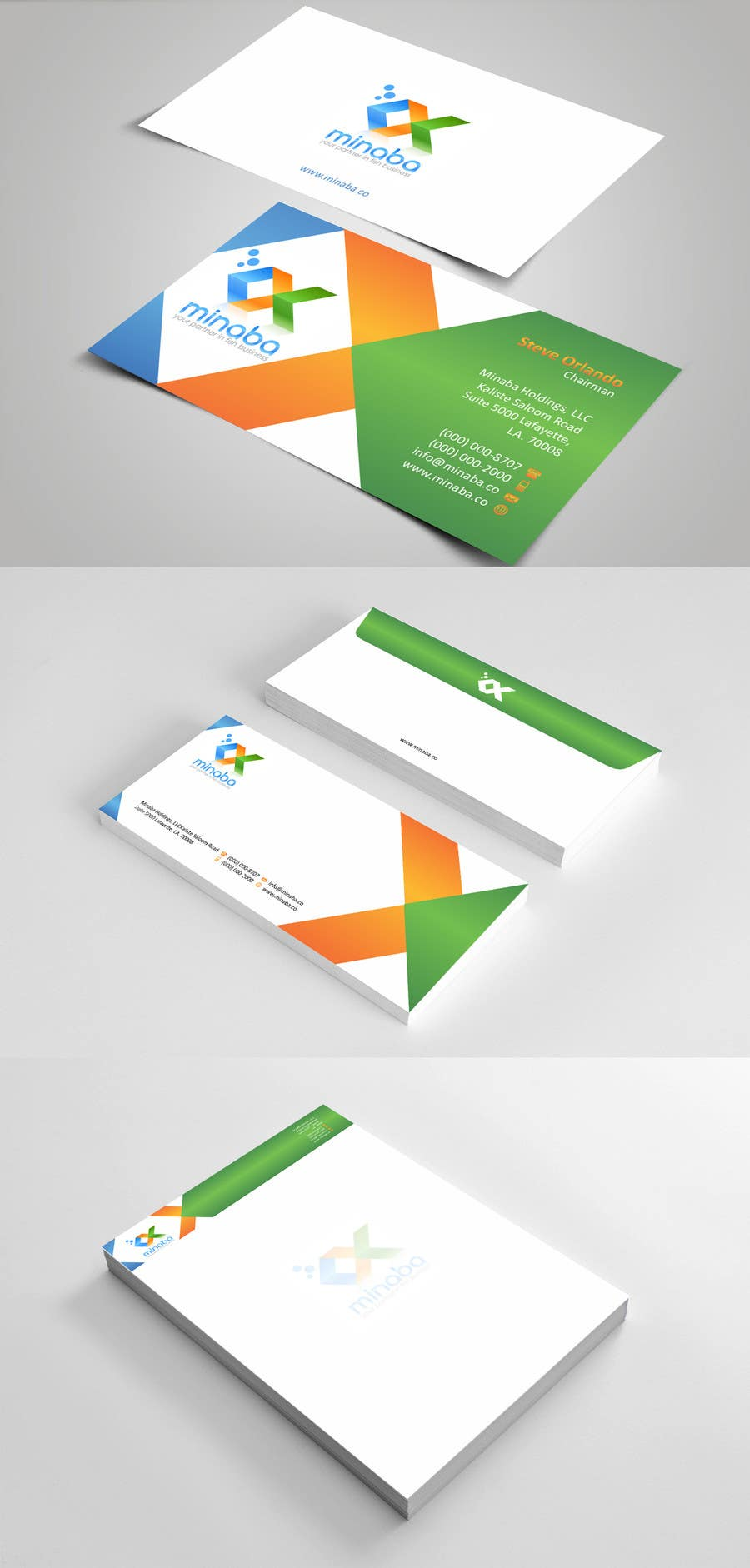 Contest Entry #32 for business card, letterhead, invoice