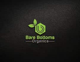 """#18 para Design a Logo for organic baby company """"Bare Bottoms Organics"""". por oosmanfarook"""