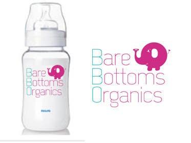 "#14 untuk Design a Logo for organic baby company ""Bare Bottoms Organics"". oleh KremMtv"