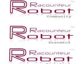 nº 8 pour Design 3 Logos for Robot Raconteur par abhinavkulkarni