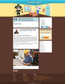 #14 for Personal blog design by johnsmith11