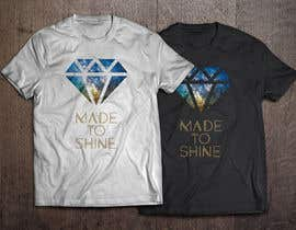 plusARHS tarafından Design a 'Made To Shine' T-Shirt for a Christian Rock Band için no 5