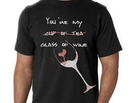 #6 for Design a Wine based T-Shirt Tee by Gallios