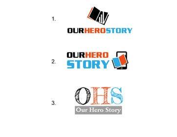 #9 cho Design a Logo for OurHeroStory.com bởi eliascurtis