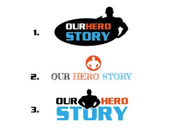 #24 cho Design a Logo for OurHeroStory.com bởi eliascurtis