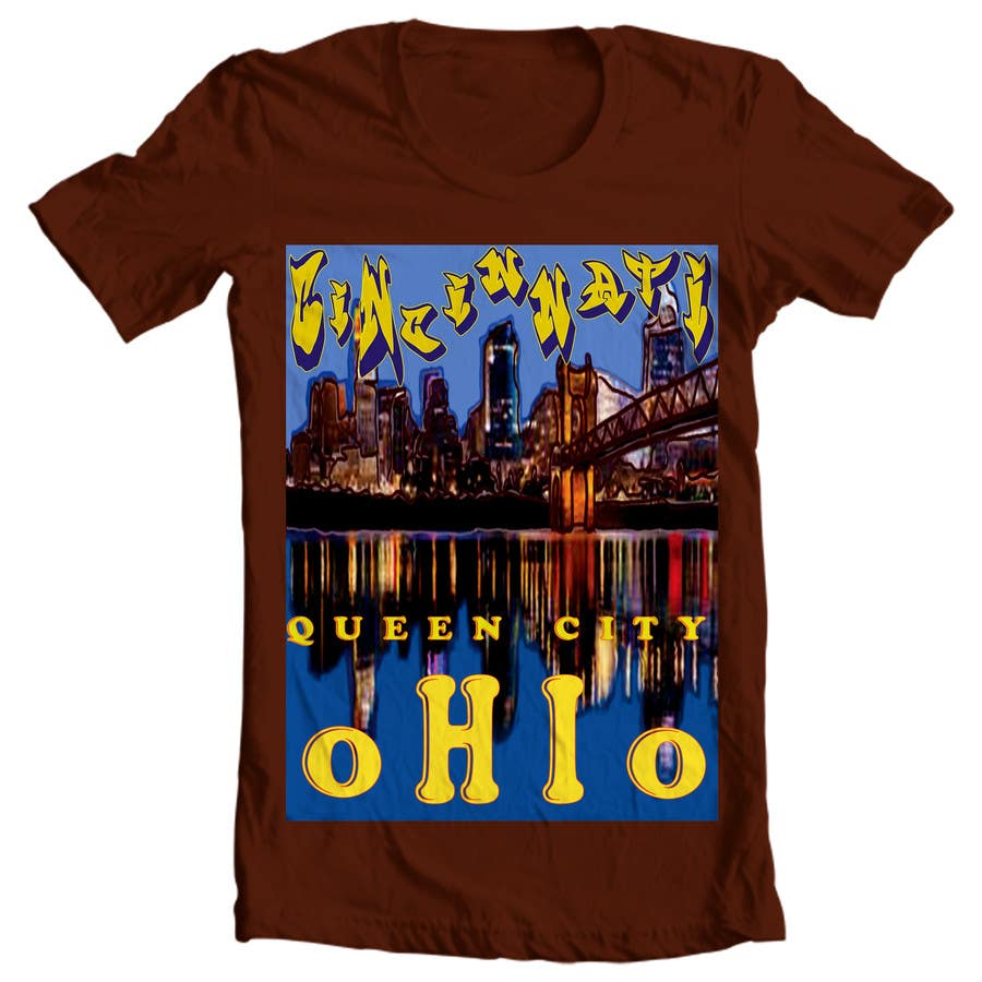 T shirt design on queen city - Contest Entry 6 For Design A T Shirt For A New Company