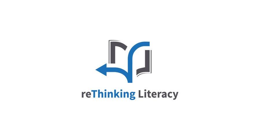 Penyertaan Peraduan #89 untuk Design a Logo for reThinking Literacy Conference