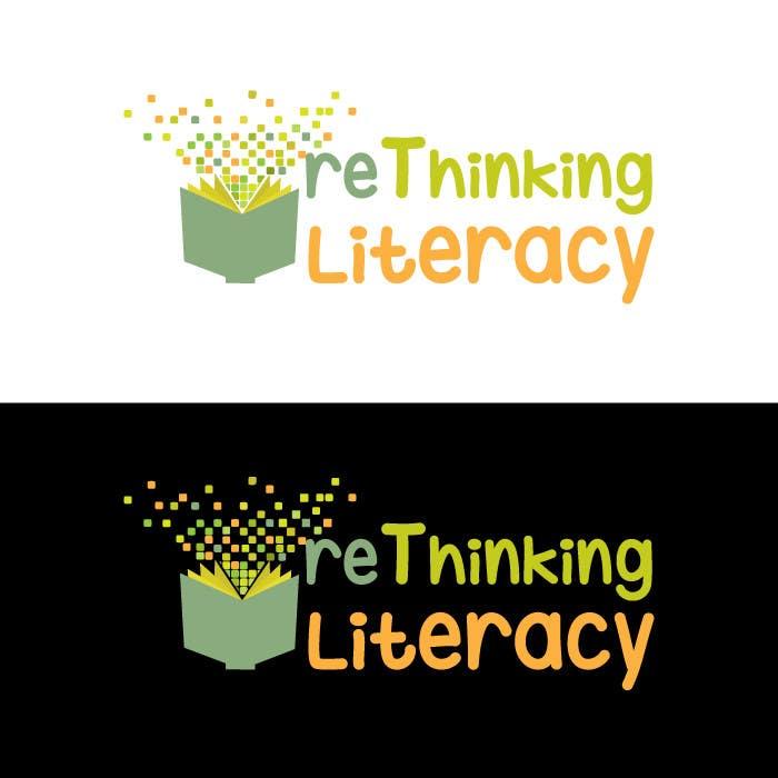 Penyertaan Peraduan #67 untuk Design a Logo for reThinking Literacy Conference