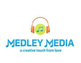 """#31 para Design a Logo for """" MEDLEY MEDIAS """" por psathish447"""
