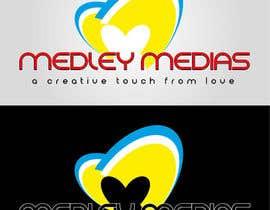"""#27 para Design a Logo for """" MEDLEY MEDIAS """" por flowkai"""