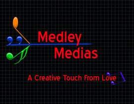 """#11 para Design a Logo for """" MEDLEY MEDIAS """" por RichaVithlani21"""