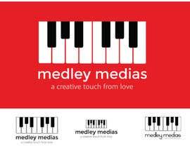 """#12 para Design a Logo for """" MEDLEY MEDIAS """" por zaldslim"""