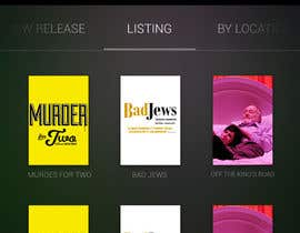 #31 untuk Design an App Mockup for Theatre Search oleh JDLA