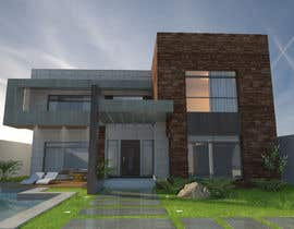 #6 untuk Design a floorplan and exterior facade for an apartment building oleh biodomo