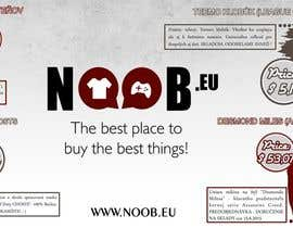 #8 untuk Design a Flyer for our e-shop NOOB.EU (gaming, movies, tv shows) oleh gabrielvcp