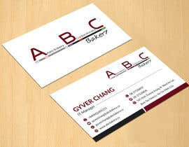 #51 for Design some Business Cards for ABC Bakery af dinesh0805
