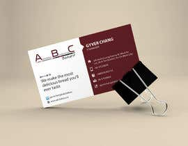 #23 for Design some Business Cards for ABC Bakery af Khandesigner2007