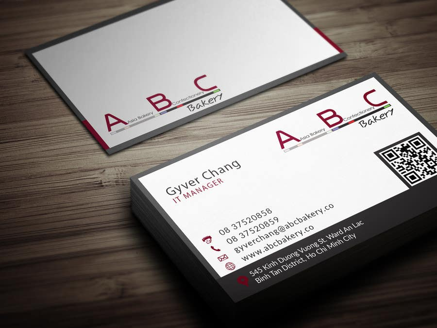 Entry #54 by Fgny85 for Design some Business Cards for ABC Bakery ...