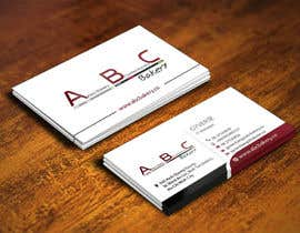 #38 for Design some Business Cards for ABC Bakery af logosuit