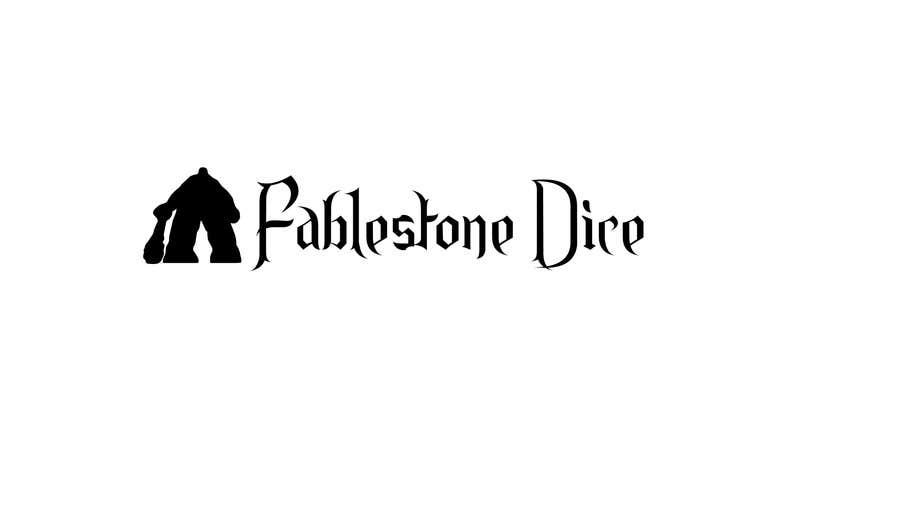 Penyertaan Peraduan #23 untuk Design a Logo for Fablestone Dice - Fantasy roleplaying theme