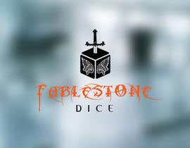 #16 untuk Design a Logo for Fablestone Dice - Fantasy roleplaying theme oleh FxZone