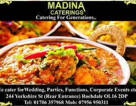 #21 cho Design a Banner for Madina Catering bởi thoughtcafe