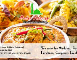 #25 cho Design a Banner for Madina Catering bởi jituchoudhary
