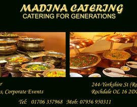 #14 cho Design a Banner for Madina Catering bởi wellwisher27