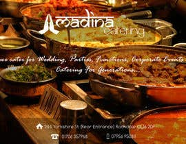 #19 for Design a Banner for Madina Catering af rijulg