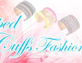 stylishwork tarafından Design a Banner for Fashion Jewelry- Wrapped Cuffs için no 115