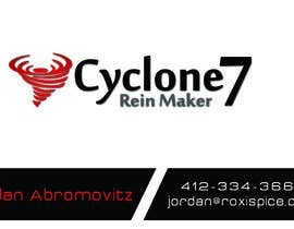 #4 cho Design some Business Cards for Cyclone 7 bởi kay2krafts