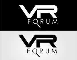 #12 cho Design a Logo for VR Forum bởi stoilova